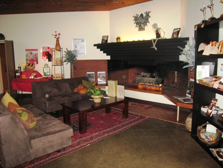 Theo's living room.